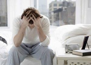При небактериальном простатите могут возникнуть нарушение сна, раздражительность, общая слабость