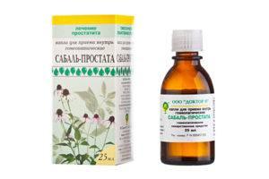 Препарат Сабаль-Простата