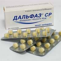 Дальфаз - неселективный препарат, который снижает давление в полости мочеиспускательного канала, устраняет дизурию