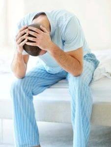 Причинами возникновения простатита могут быть стрессы и плохой сон
