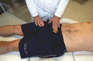 Симптомы острого воспаление простаты: лихорадочное состояние, боли в поясничном отделе, внизу живота, в паховой области