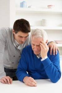 Показание к применению у мужчин старше среднего возраста