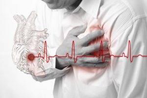 Наблюдается нарушенный ритм сердечных сокращений (выраженная тахикардия)