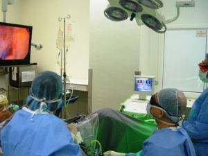 Существует метод лечения ДГПЖ интерстициальной лазерной терапией