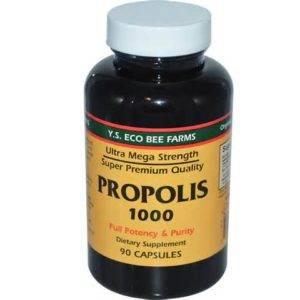 От аденомы народным средством является прополис – вещество, обладающее отменными антимикробными свойствами