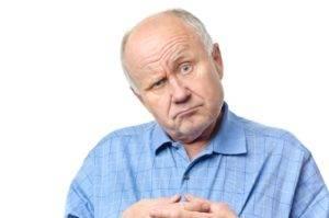Причиной пропадания эрекции может быть возраст мужчины
