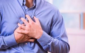 Резкие боли в области сердца
