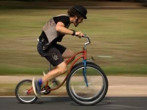 Неподходящий размер велосипеда