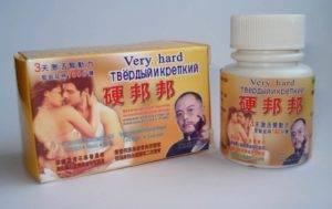 Китайские таблетки для потенции