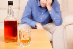 Во время лечения нужно отказаться от употребления спиртного