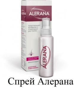 Спрей Алерана против выпадения волос