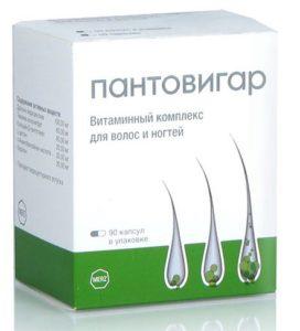 Пантовигар от выпадения и для роста волос